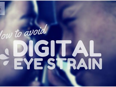 How to avoid Digital Eye Strain